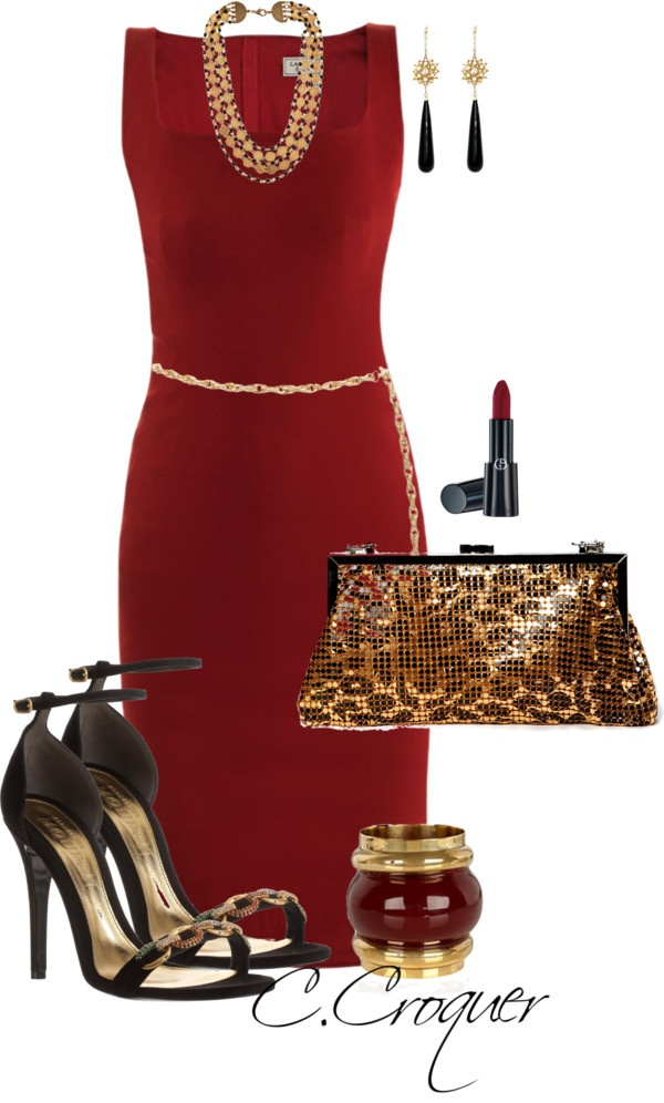 """Dress Up and Shine"" by ccroquer on Polyvore"