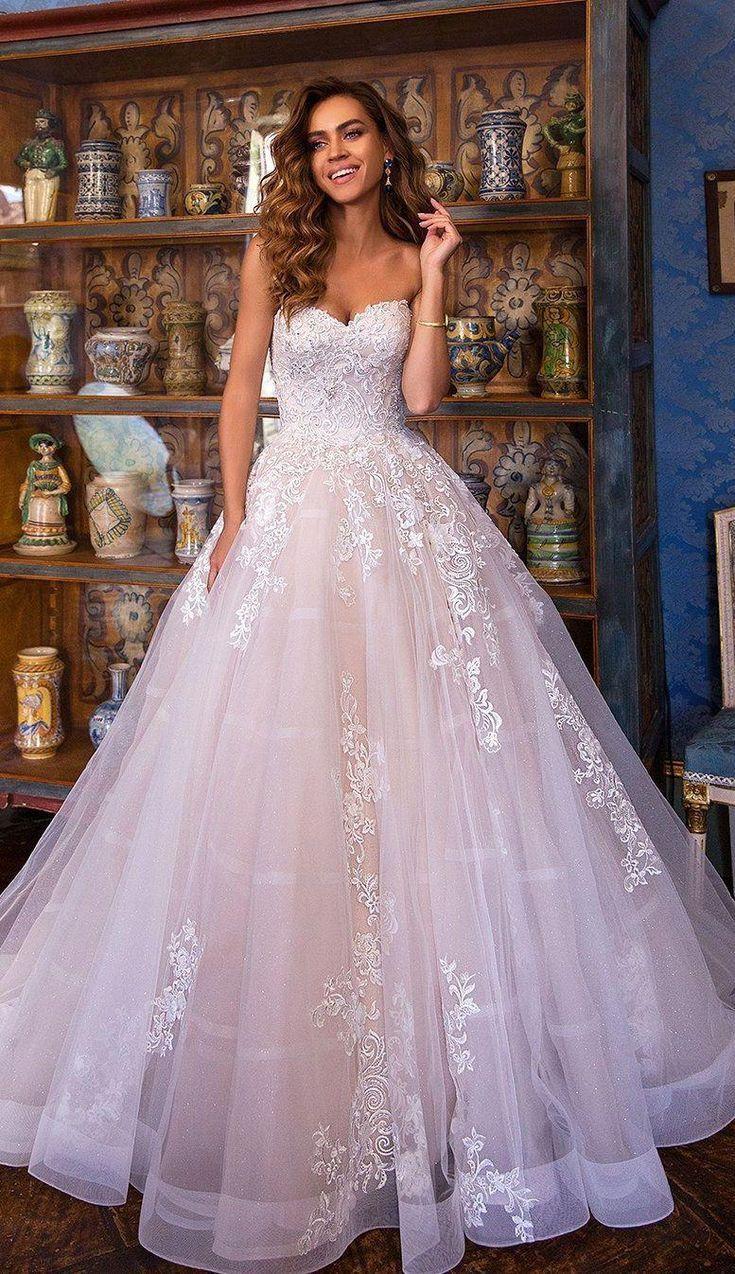 49 Strapless wedding gowns ideal emphasis on femininity – Elegantly Chic wedding gown , mermaid wedding dress, wedding dresses #weddingdress #weddingg