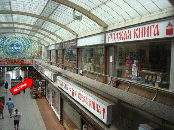 Ruské knihkupectví Praha