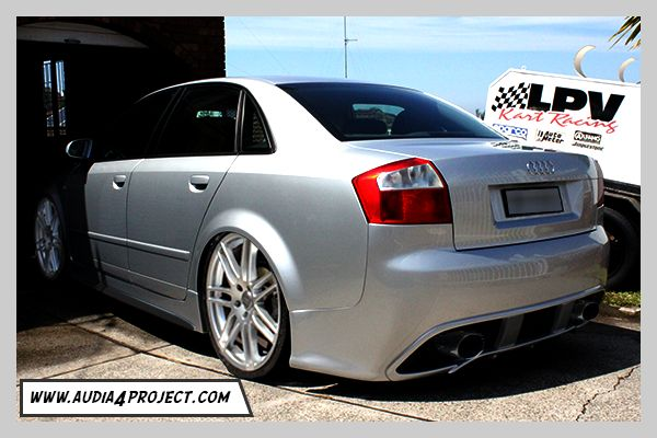 audi a4 b6 8e regula tuning body kit rear bumper bar. Black Bedroom Furniture Sets. Home Design Ideas