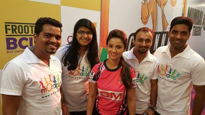 Frooti Box Cricket League - Adaa Khan