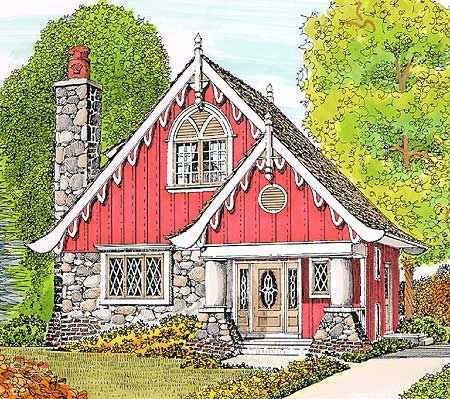 25 best ideas about fairytale house on pinterest for Fairytale cottage home plans