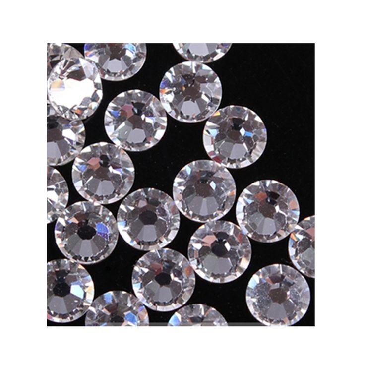 120 pcs Flatback ss20 DMC Clear Hot Fix Rhinestones Shiny Crystals Strass Trims For Clothing Boots Bags Heat Transfer Hotfix