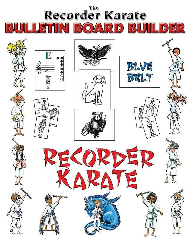 Recorder Karate Bulletin Board Builder, The