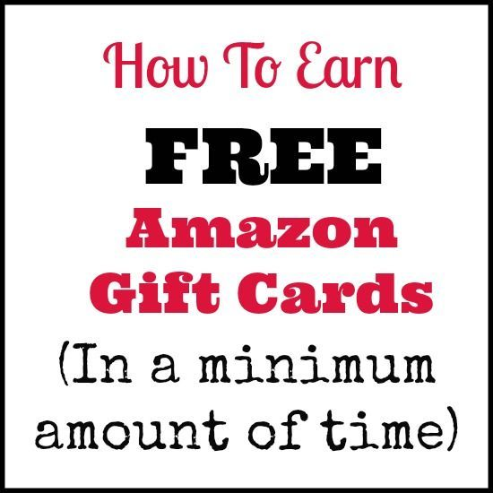 Completely legitimate way to Earn Free Amazon Gift Cards. I tried this method and it worked!