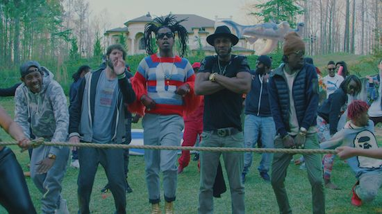 """Trinidad James premiere the official visual for his new single """"Lil Thick (She Juicy)"""" featuring Mystikal and Lil Dicky. Produced by DJ Mustard. Watch the video on page 2."""