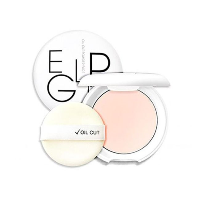EGLIPS Oil Cut Pacto Pó 8g (Tipo de Pele oleosa) Maquiagem rosto Fundação Pó Corretivo Maquiagem Primer Rugas Poros Esconder