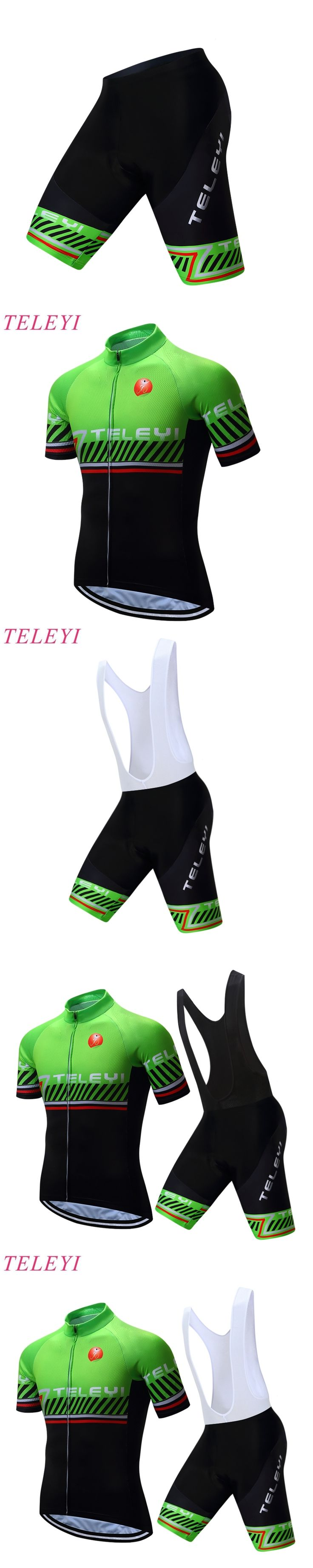 2016 Outdoor Sportswear Short Sleeve Pro Team Bike Cycling clothing/Cycling wear/ Cycling jersey Bicycle GEL Breathable Pad