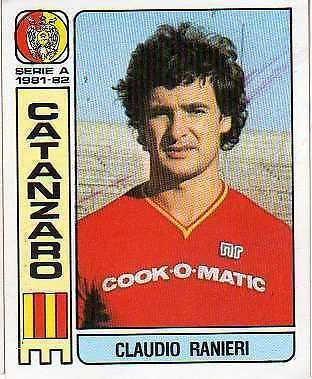 Calciatori panini - Claudio Ranieri - 1981/82