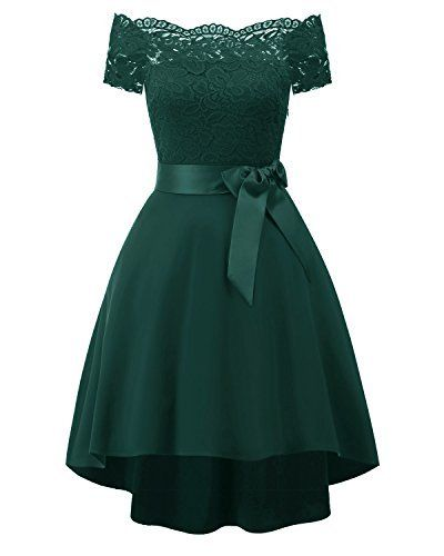 e84756eb598b EvoLand Womens Spring Formal Dresses For Women Party Wedding Guest Dresses  Green