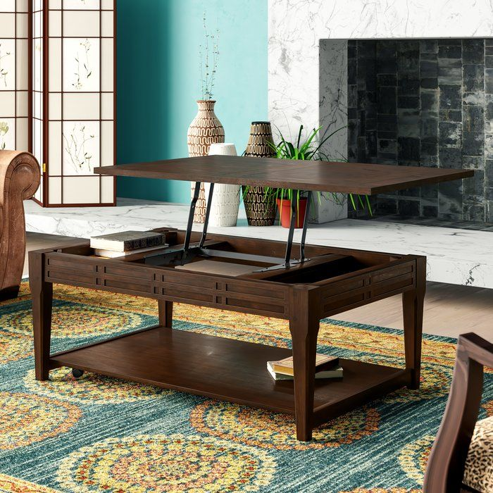 Sayre Lift Top Coffee Table Cool Coffee Tables Coffee Table