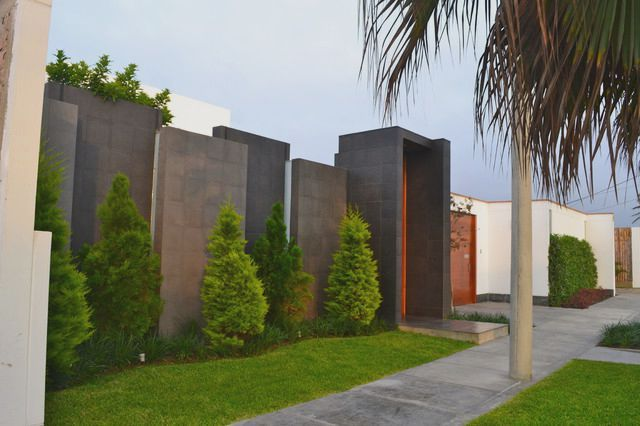 Outside Wall Decorative Compound Wall Design
