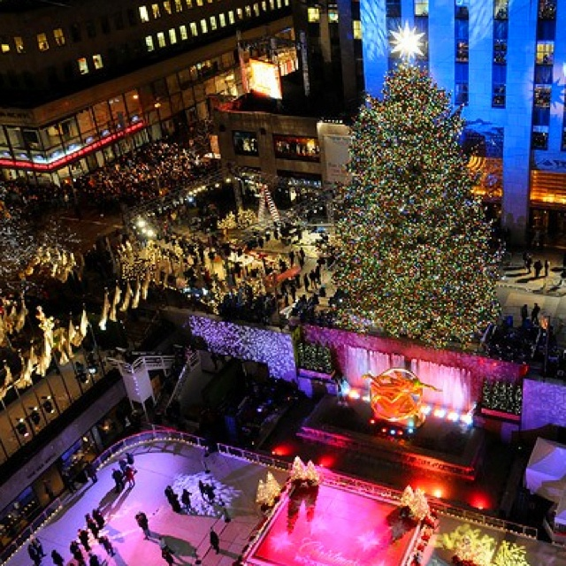 Go To New York City Near Christmas Time And Ice Skate In Central Park Bucket List Things To Do New York Christmas New York York