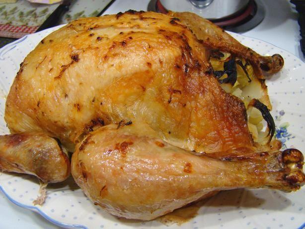 Might be a nice twist: Lemon Garlic Roast chicken