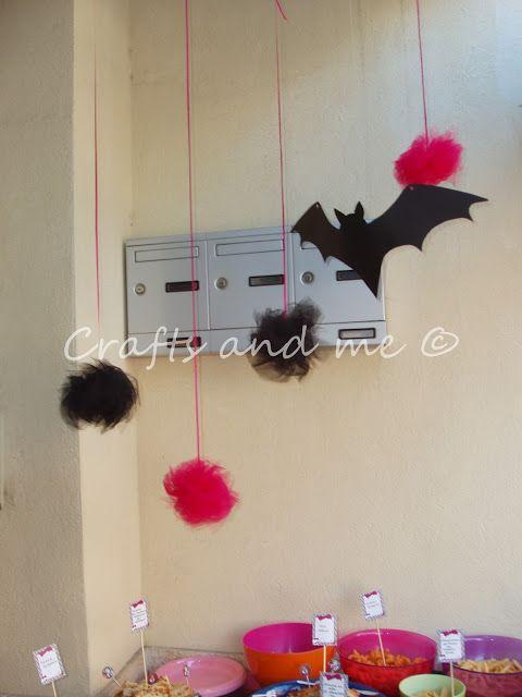 Crafts and me: Πάρτι γενεθλίων με θέμα Monster High