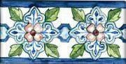 Decorative Kitchen Backsplash Tiles With Evergreens