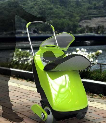 スーツケースとしても ベビーカーとしても使用できる「Ride ON」    旅行に行く時はどうしても荷物が多くなってしまいがち。しかも小さい子どもを連れての旅行の場合、ベビーカーの持ち運びも必要になるため、さらに荷物の量が増えてしまいます。今回はそんなシーンに活躍してくれるアイテム