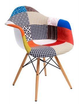 Krzesło P018W insp. DAW PATCHWORK