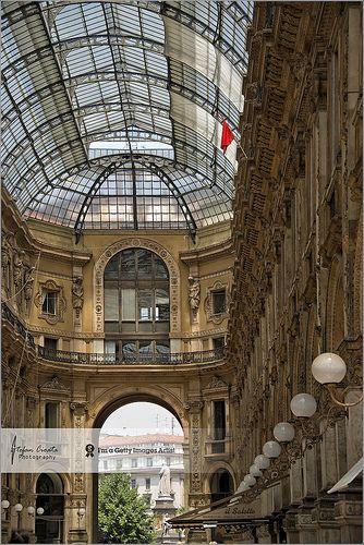 Galleria Vittorio Emanuele II  |  Milan, Italy