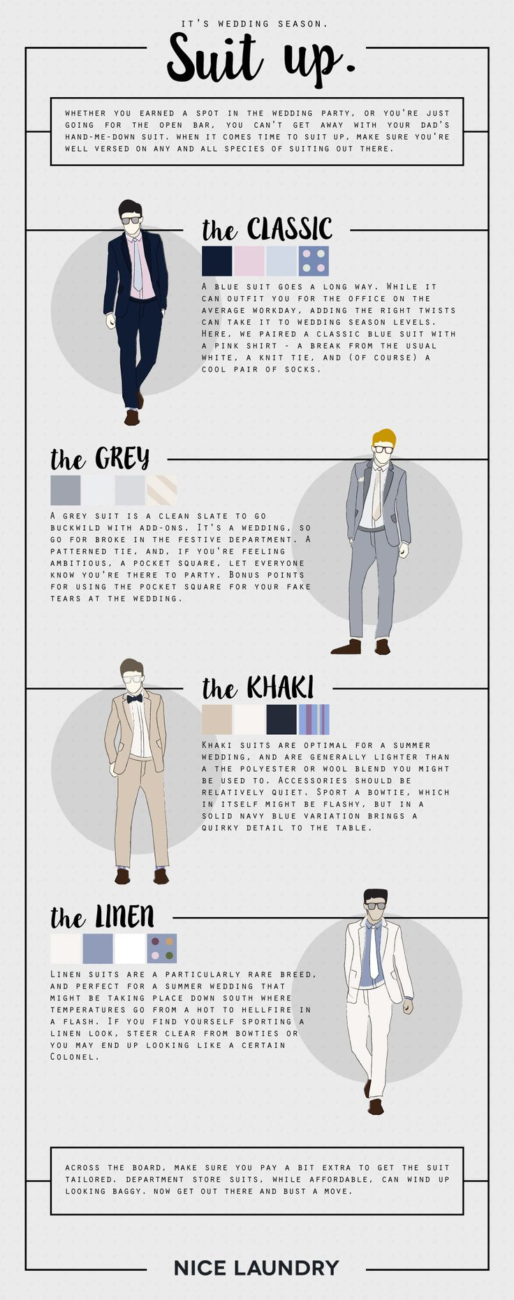 You're going to need more than board shorts and tank tops this summer— Suit up in style with these helpful...