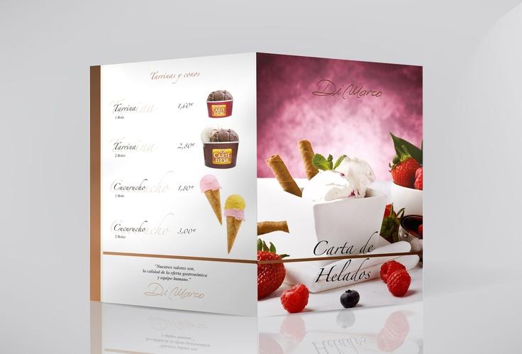 Ice Menu for Select Restaurant, Restaurante DiMarco