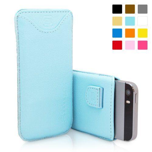 Funda Snugg de cuero en color azul claro para el iPhone 5 / 5S - Funda con ranura para tarjetas, tira elastica y un interior de fibra Nubuck de alta calidad para el Apple iPhone 5 / 5S B00FAODMNS - http://www.comprartabletas.es/funda-snugg-de-cuero-en-color-azul-claro-para-el-iphone-5-5s-funda-con-ranura-para-tarjetas-tira-elastica-y-un-interior-de-fibra-nubuck-de-alta-calidad-para-el-apple-iphone-5-5s-b00faodmns.html
