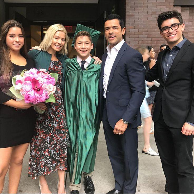 Kelly Ripa And Mark Consuelos' Son Joaquin Graduates! 'You
