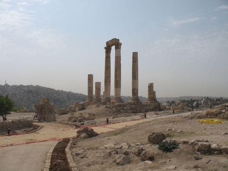 #Jordan #AmmanCitadel #świątynia Herkulesa #Jordania #travel #photos