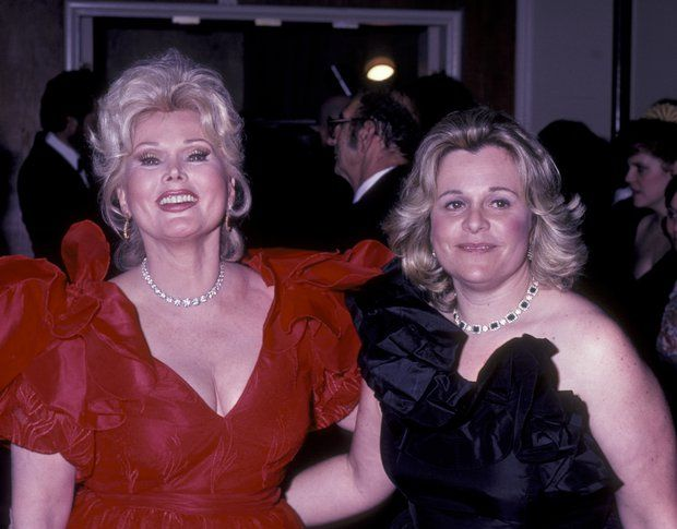 Zsa Zsa Gabor and Francesca Hilton attend 11th Annual American Film Institute Lifetime Achievement Awards Honoring John Huston on March 3, 1983 at the Beverly Hilton Hotel