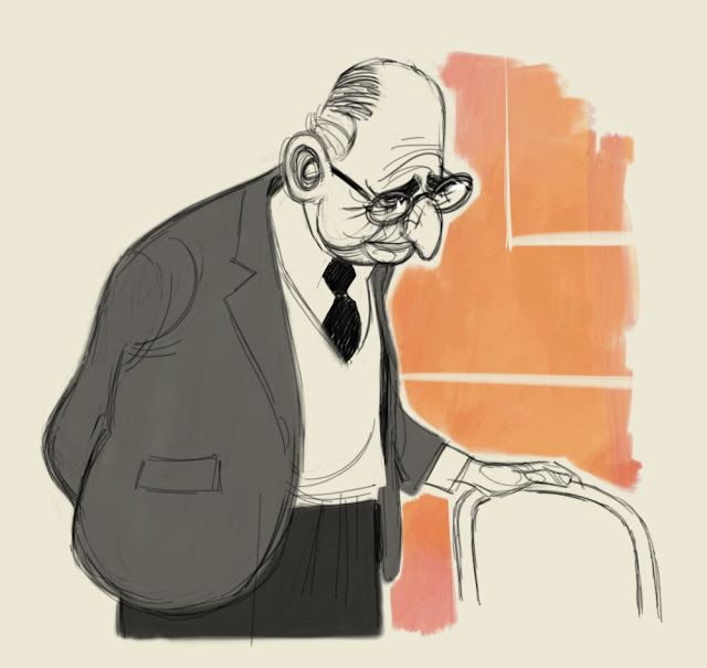 Character Design Old Man : Best character design old people images on pinterest