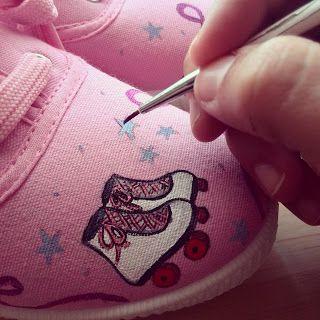 Zapatillas pintadas para todos