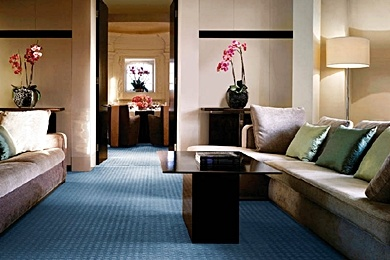 One Aldwych hotel - London family hotel- spacious suites, pool with underwater music.  Great location
