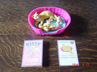 Puppy in my Pocket and Kitty in my Pocket families x 3 - vintage   eBay