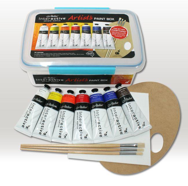 Atelier Interactive Artist's Paint Box Set