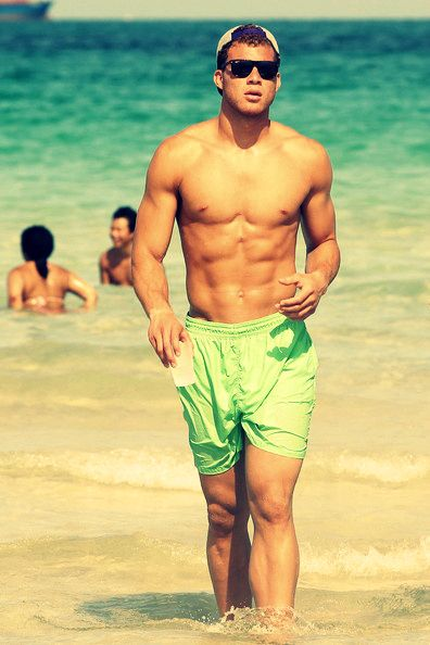 Blake Griffin at the beach