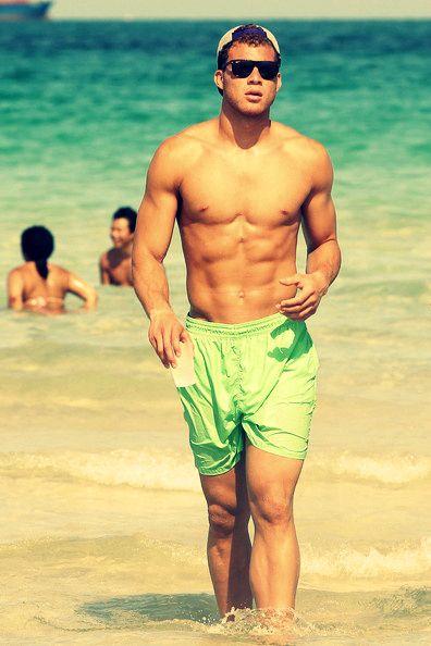 Blake Griffin at the beach