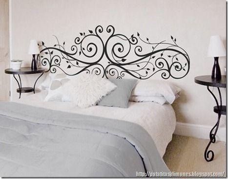 descarga plantillas para decorar paredes como vinilos