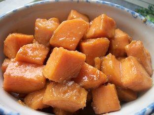 Candied Sweet Potato Recipe - Thanksgiving Sweet Potato Recipe