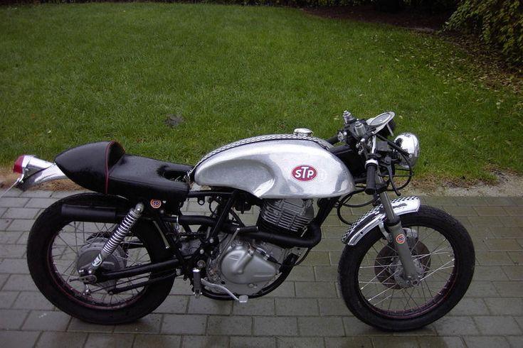 suzuki 400 café racer motorcycle   suzuki custom motorcycles