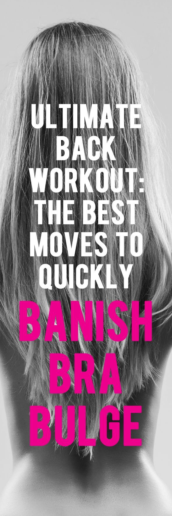 This is how you get rid of back fat. #backworkout #backexercise #brabulge