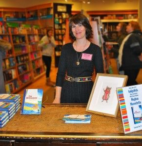 "Debut author Meghan Marentette with The Stowaways, called ""in the same league"" as The Wind in the Willows (CM Magazine)"