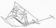Cyrus McCormick - Sketch of 1845 model reaper.