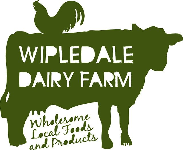 WISELY WOVEN: Wipledale Dairy Farm logo by wiselywoven, via Flickr