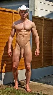 Mature Men Lying Nude