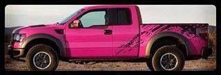 Ford Raptor - pink and black