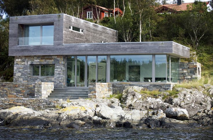 Cabin by the sea. Sveio, Norway