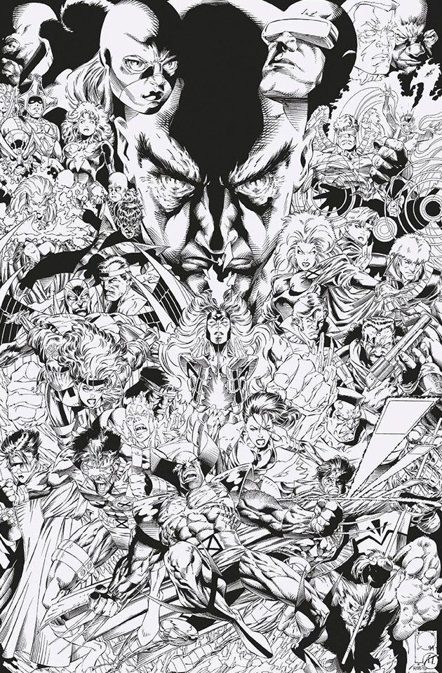 Uncanny X Men 1 2018 Complete Cover Checklist X Men Marvel Comic Art