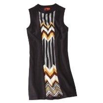 Missoni for Target Women Sleeveless Famiglia Black Multi Sweater Dress Medium M