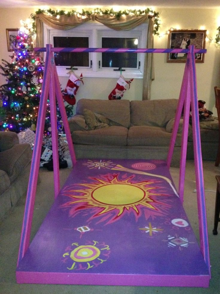Diy home gymnastics equipment