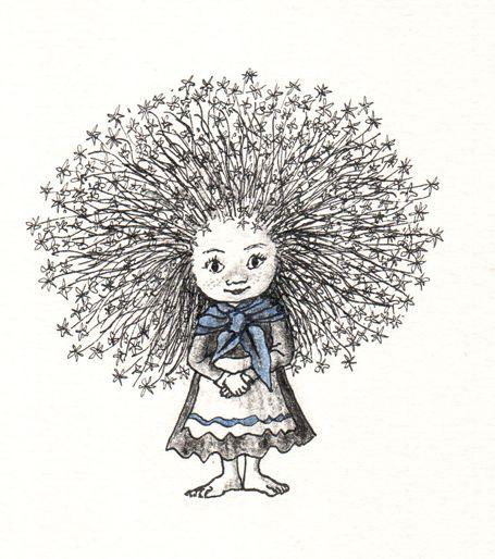 """Mikhail Bychkov illustration for """"Gift Troll""""."""
